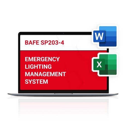 BAFE SP203-4 Emergency Lighting Management System