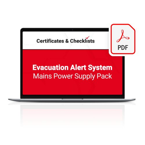 Evacuation Alert System Mains Power Supply Pack