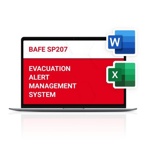 BAFE SP207 Evacuation Alert Management System